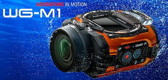 jual Ricoh WG-M1 Action Camera