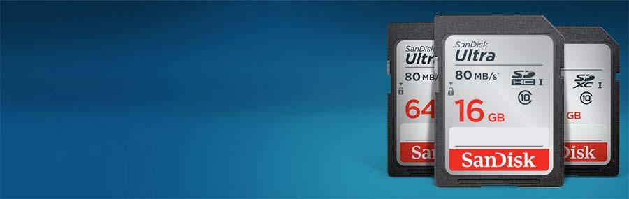 jual Sandisk Ultra SDHC 80Mb/S - 16GB