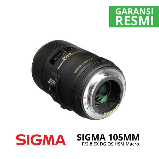 jual Sigma 105mm F2.8 EX DG OS HSM Macro
