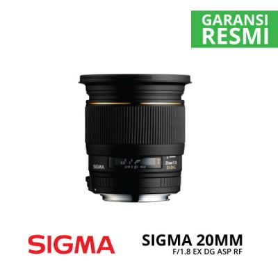 jual Sigma 20mm F1.8 EX DG ASP RF