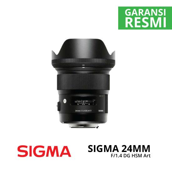 jual Sigma 24mm F1.4 DG HSM Art