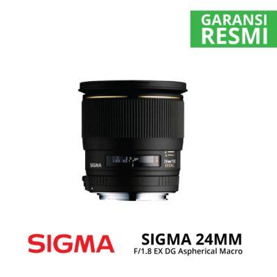 jual Sigma 24mm F1.8 EX DG Aspherical Macro