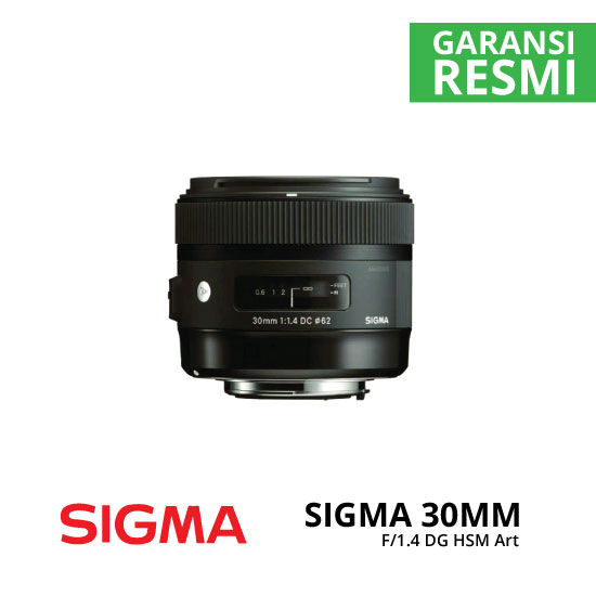 jual Sigma 30mm F1.4 DC HSM Art