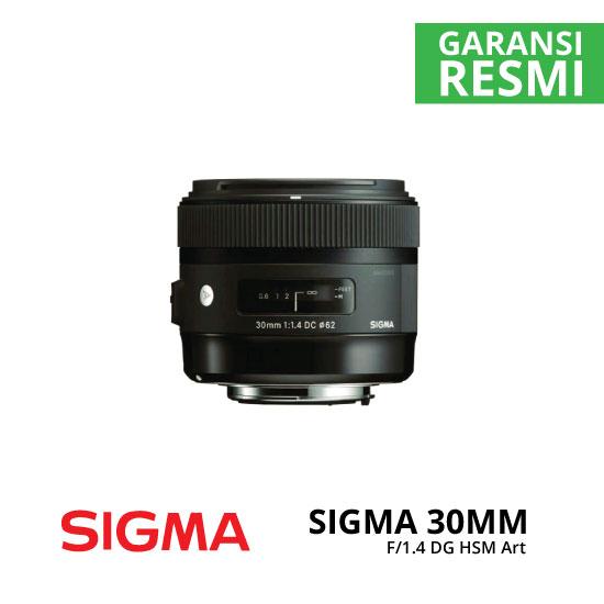 jual Sigma 30mm F1.4 DC HSM Art