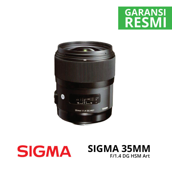 jual Sigma 35mm F1.4 DG HSM Art