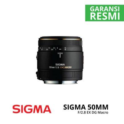 jual Sigma 50mm F/2.8 EX DG Macro