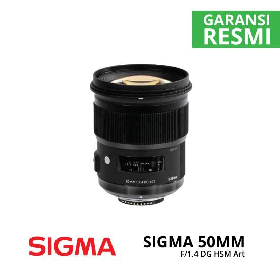jual Sigma 50mm F1.4 DG HSM Art