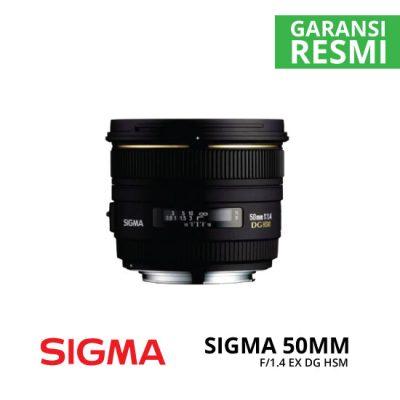 jual Sigma 50mm F1.4 EX DG HSM