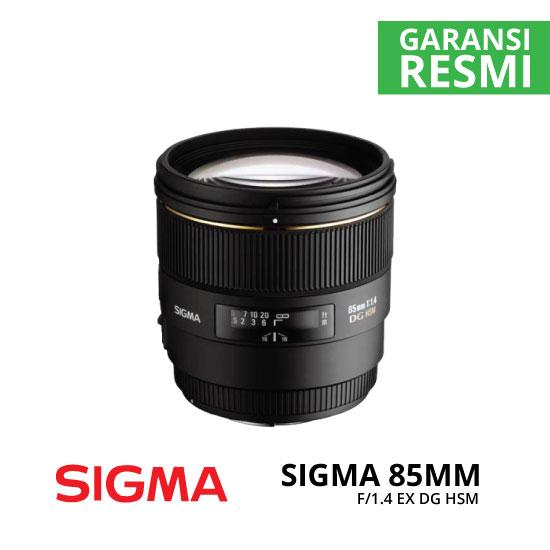 jual Sigma 85mm f/1.4 EX DG HSM