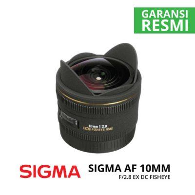 jual Sigma AF 10mm F/2.8 EX DC Fisheyes
