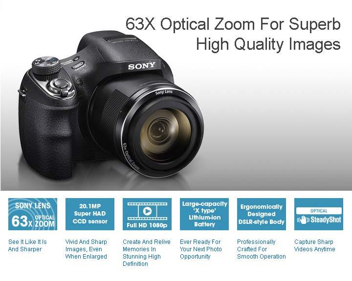 jual Sony DSC-H400 Digital Camera