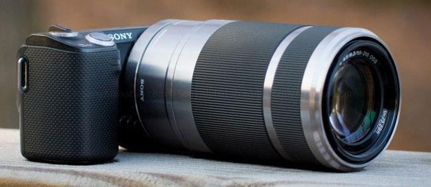 Sony E 55-210mm f/4.5-6.3 OSS E-Mount Lensa