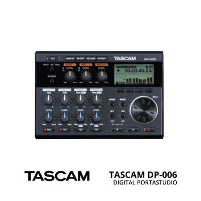 jual SpesifikasiTASCAM DP-006