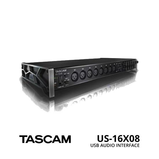 jual TASCAM USB Audio Interface US-16X08