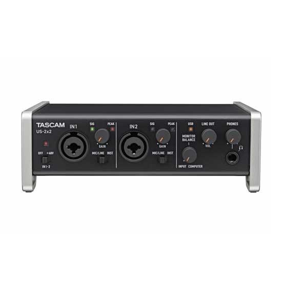 TASCAM USB Audio Interface US-2X2