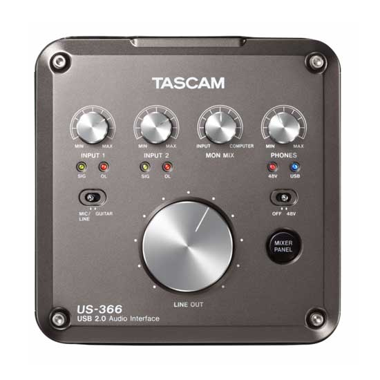 TASCAM USB Audio Interface US-366