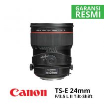 jual Canon TS-E 24mm f/3.5 L II Tilt-Shift