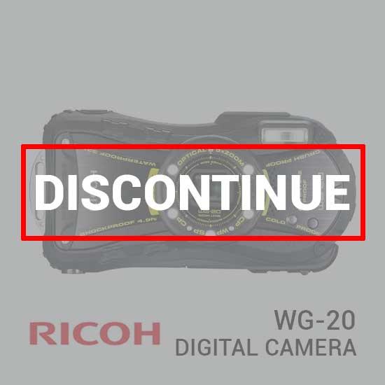jual kamera Ricoh WG-20 Digital Camera harga murah surabaya jakarta