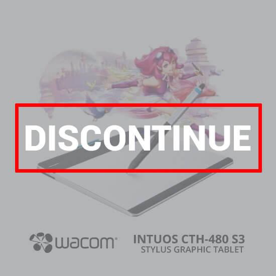 WACOM Intuos Manga Pen & Touch Small CTH-480/S3