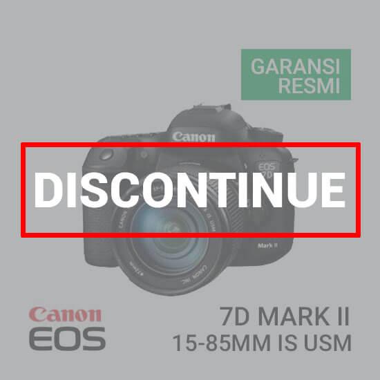 jual kamera Canon EOS 7D Mark II Kit 15-85mm f3.5 - 5.6 IS STM harga murah surabaya jakarta