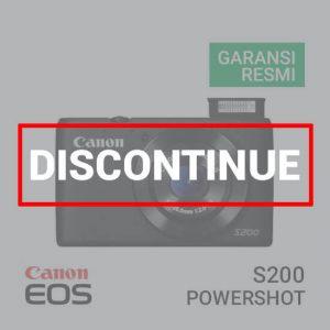 jual kamera Canon PowerShot S200 harga murah surabaya jakarta
