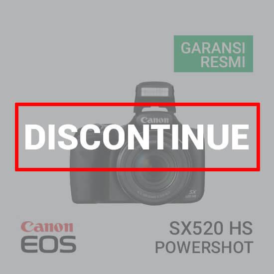 jual kamera Canon PowerShot SX520 HS harga murah surabaya jakarta