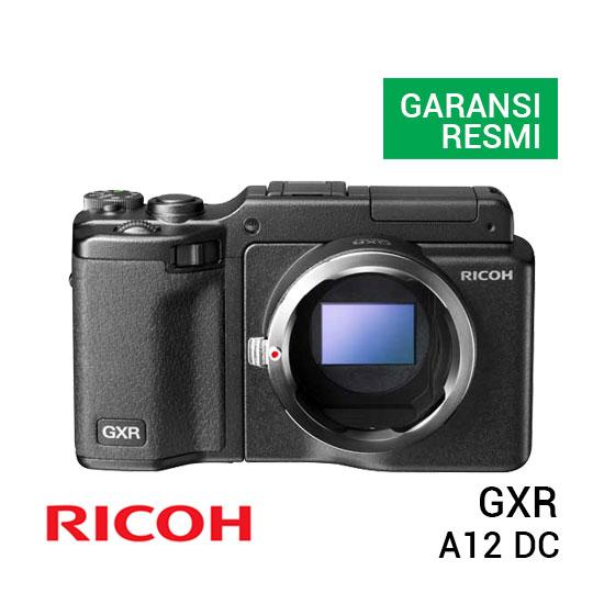 jual kamera Ricoh GXR MOUNT A12 LENS DC KIT harga murah surabaya jakarta