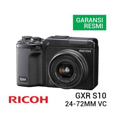 jual kamera Ricoh GXR S10 24-72mm f/2.5-4.4 VC harga murah surabaya jakarta