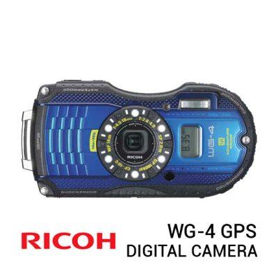 jual kamera Ricoh WG-4 GPS Digital Camera harga murah surabaya jakarta