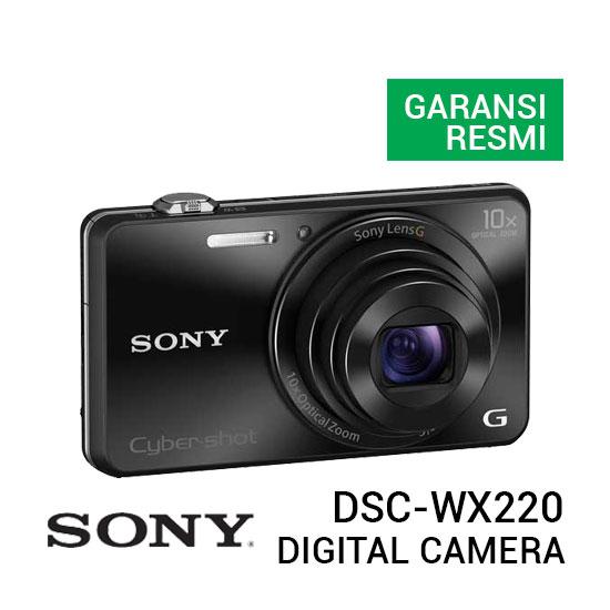 jual kamera Sony DSC-WX220 Cyber-shot Digital Camera harga murah surabaya jakarta