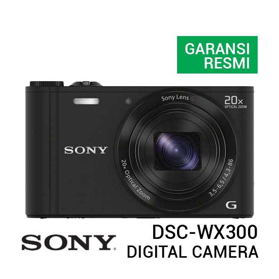 jual kamera Sony DSC-WX300 Cyber-shot Digital Camera harga murah surabaya jakarta
