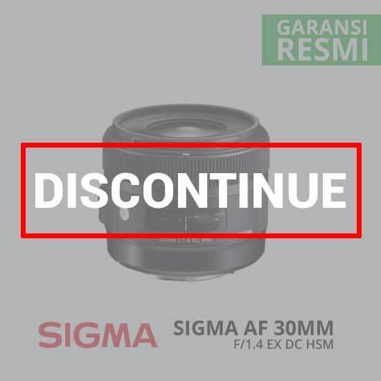 jual Sigma AF 30mm F/1.4 EX DC HSM