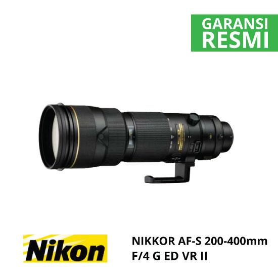 jual Nikon AF-S 200-400mm f/4G ED VR II Nikkor