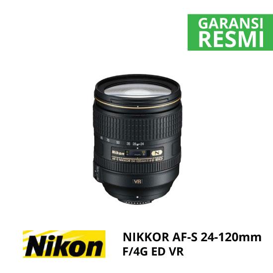 jual Nikon AF-S 24-120mm f/4G ED VR Nikkor
