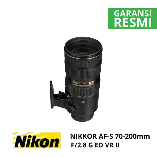 jual Nikon AF-S 70-200mm f/2.8G ED VR II Nikkor