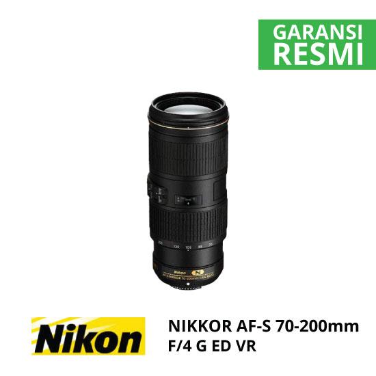 jual Nikon AF-S 70-200mm f/4G ED VR Nikkor