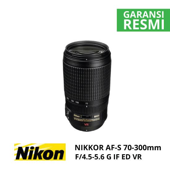 jual Nikon AF-S 70-300mm f/4.5-5.6G IF ED VR Nikkor