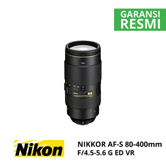 jual Nikon AF-S 80-400mm f/4.5-5.6G ED VR Nikkor