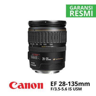 JUAL Canon EF 28-135mm f/3.5-5.6 IS USM