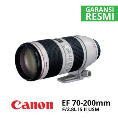jual Canon EF 70-200mm f/2.8L IS II USM