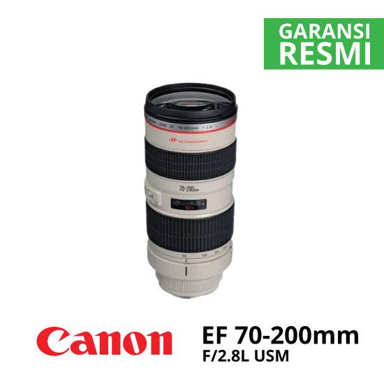 jual Canon EF 70-200mm f/2.8L USM