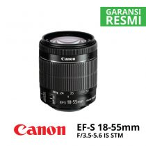 jual Canon EF-S 18-55mm f/3.5-5.6 IS STM