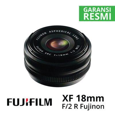 jual Fujifilm XF 18mm f2 R Fujinon