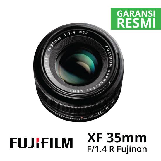 jual Fujifilm XF 35mm f1.4 R Fujinon