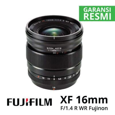 jual Fujifilm XF16mm F1.4 R WR Fujinon