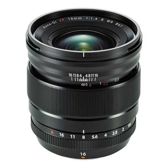 Fujifilm XF16mm F1.4 R WR Fujinon