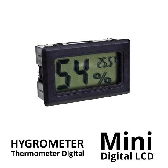 Jual Hygrometer Mini Digital LCD surabaya jakarta