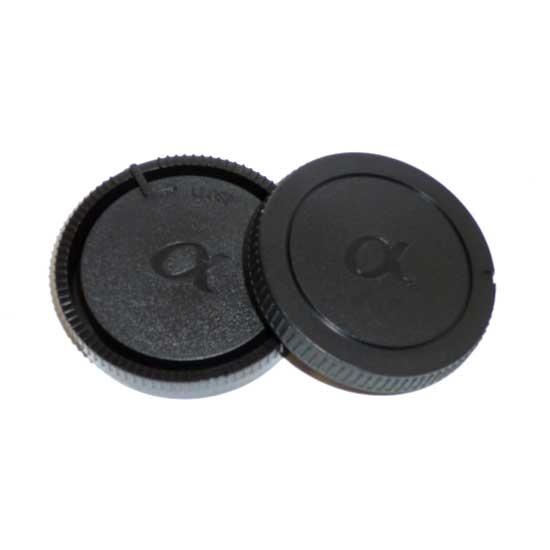 JJC Rear & Body Cap For Sony A-Mount
