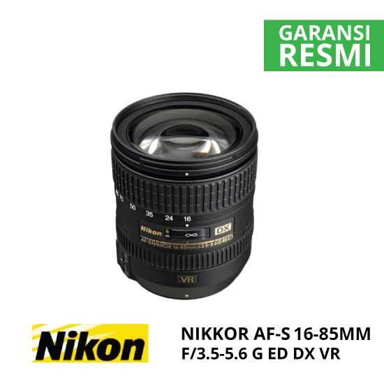 Nikon AF-S 16-85mm f/3.5-5.6G ED DX VR Nikkor