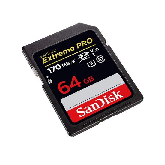 Jual Sandisk Extreme Pro SDXC UHS-I U3 V30 170MbS - 64GB Harga Terbaik dan Spesifikasi